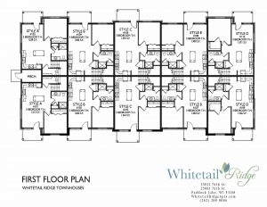 townhouse floorplan, townhouse layout, town house layout